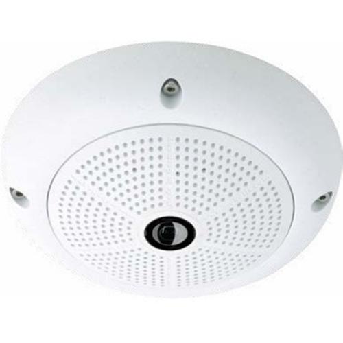 Mobotix Q26B 6 Megapixel Netværkskamera - Kuppel - MJPEG, H.264 - 3072 x 2048 - CMOS - Vægmontering, Loftsmontering