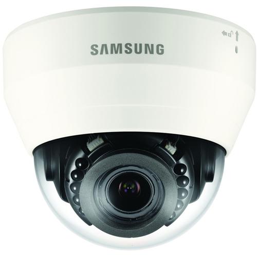 Wisenet QND-7080R 4 Megapixel Netværkskamera - Dome - 20 m Night Vision - H.264, H.265, MJPEG - 2592 x 1520 - 4,3x Optical - CMOS - Vægmontering, Loftsmontering, Hjørnemontering, Stangmontering, Rækværksmontering, Monteringsbeslag