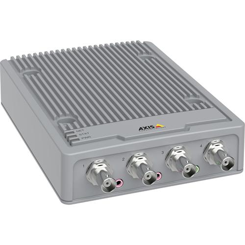AXIS P7304 Video Encoder - Ekstern - Funktioner: Video Encoding - 1920 x 1080 - PAL, NTSC - MPEG-4 - Sammensat videoNetværk (RJ-45)