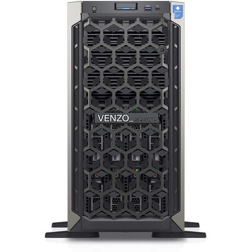 VENZO Secure D100 Tårn Server - x Intel Core i3 i3-9100 3,60 GHz - 16 GB RAM - 8 TB (2 x 4 TB) HDD - 240 GB (1 x 240 GB) SSD - Gigabit Ethernet - 8 x LFF Bay(s) - 1 x 495 W