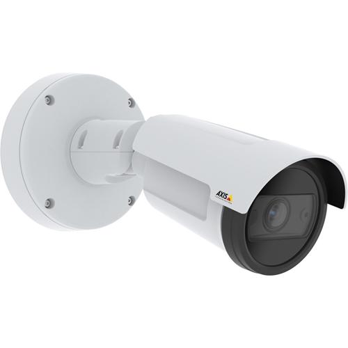 AXIS P1455-LE 2 Megapixel Netværkskamera - Bullet - 40 m Night Vision - MJPEG - 1920 x 1080 - 3x Optical - RGB CMOS - Samledåsemontering, Stangmontering, Hjørnemontering