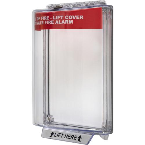 STI Universal Stopper Sikkerhedsdække - Indoor, Outdoor - Polycarbonate - Red