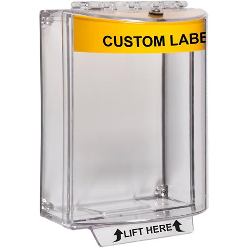 STI Universal Stopper Sikkerhedsdække til Opkaldspunkt - Indoor, Outdoor - Polycarbonate - Gul