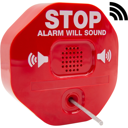 STI Ildslukkeralarm - Trådløs - 105 dB - Hørbar - Red