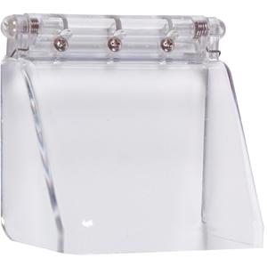 STI STI-6514 Sikkerhedsdække til Fingeraftrykslæser - Beskadigelsesbestandig, Vandalsikret - Polycarbonate, Rustfri Stål - Klar