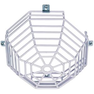 STI Steel Web Stopper STI-9602 Sikkerhedsdække til Røgalarm - Beskadigelsesbestandig, Rustfri, Sabotagesikret - Rustfri Stål, Polyester, Plastik - Hvid