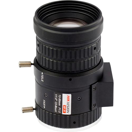 Hikvision HV1250D-MPIR - 12 mm til 50 mm - f/1,5 Linse til CS montering - Designed for Overvågningskamera - 4,2x Optisk Zoom - 84,8 mm Længde - 48 mm Diameter