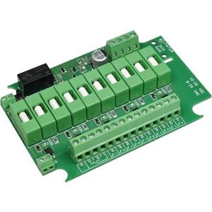 Alarmtech Sikret udgangsmodul til Adgangskontrolsystem, Strømforsyning - Adgangs Kontrol - Plastik