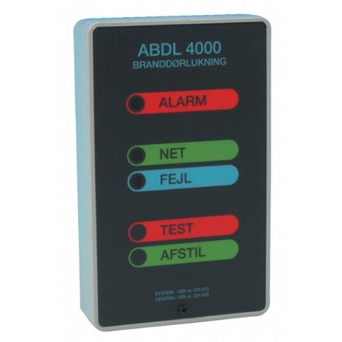 ABDL 4000 Kontrolenhed