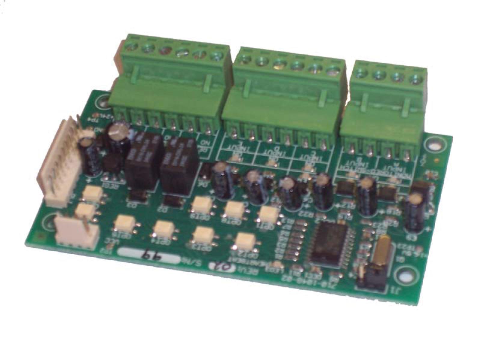 MXP-029 Relækort 2 relæ 3 indg