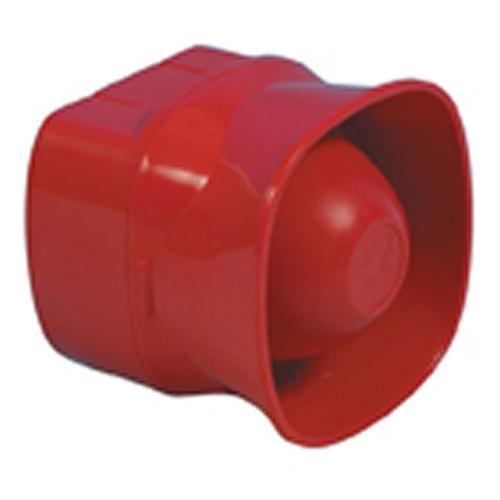 Adresserbar 100dB sirene, Rød