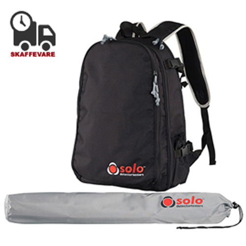SOLO Urban Backpack + Pole Bag