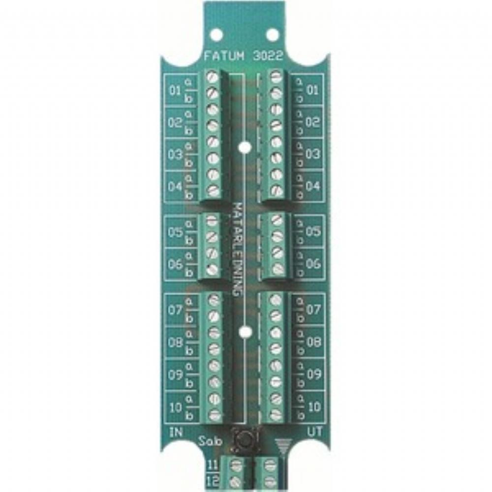 Connection module 10 ->10 pair