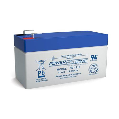 Power-Sonic PS-1212 Batteri - 1200 mAh - Forseglet blysyre (SLA) - 12 V DC - Genopladelige batterier