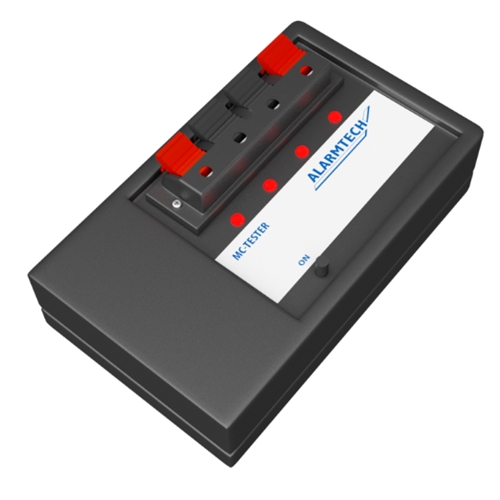 MC-Tester for magn. contacts