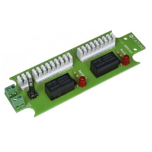 3065.01 Relay module 12 VDC