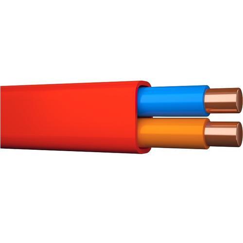 ELQRB PURE röd 2x1,0 flat 100