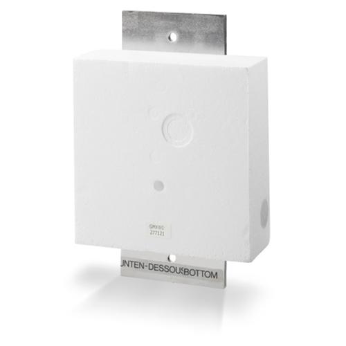 GMXW0 Indfældningsdåse for væg