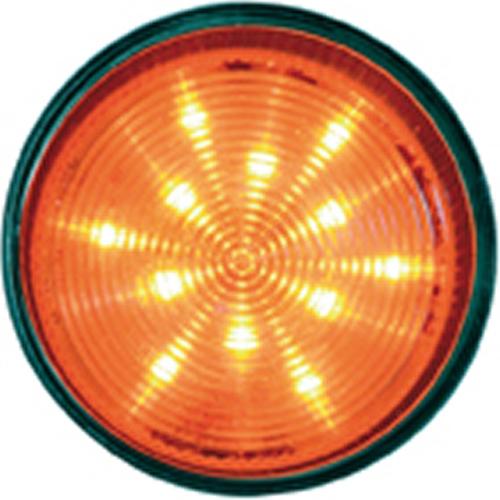 Delta Design Sikkerheds stroboskoplys - 100 V AC - Visuelt - Orange