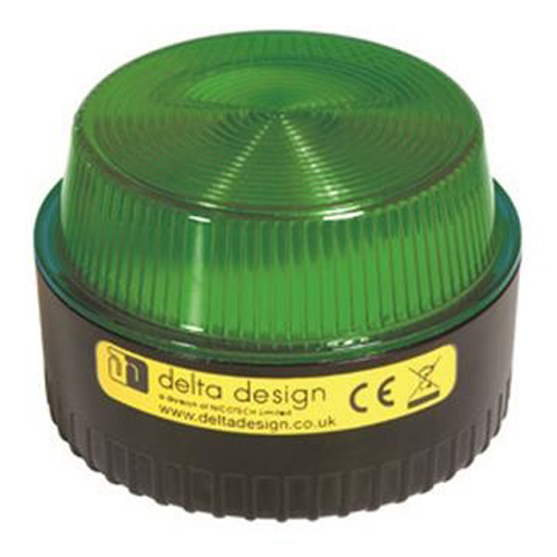 LP1 12G Blitzlampe, 12V, Grøn