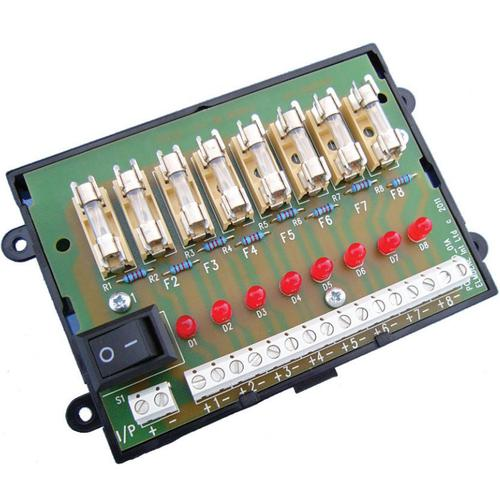 Fused Output Module, DIN Rail