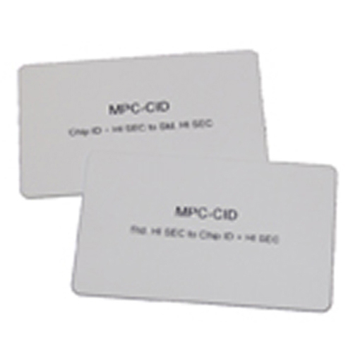 MPC-CID Mifare Prog.kort
