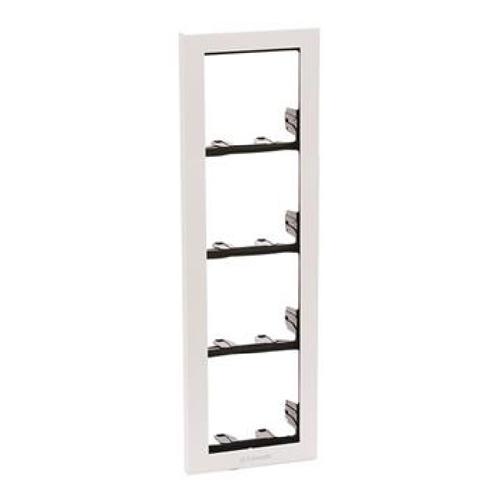 3311/4W Hvid modulramme