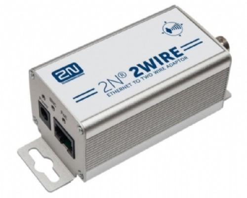 2N 2Wire sæt 2 adaptors PSU EU