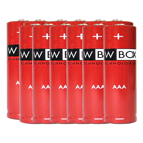 W Box Multifunktion Batteri - AAA - Alkaline - 12 Pack