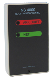 NS 4000 Nødstrømsforsyning