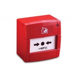 Alarmtryk med isolator og låg