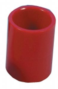 Muffe for samling, rød ABS