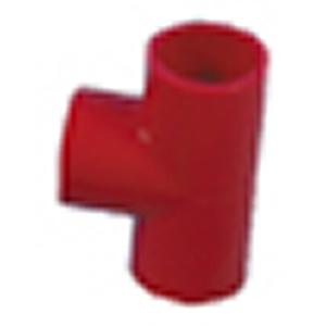 Rør-T, rød ABS