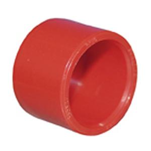 Endemuffe, rød ABS