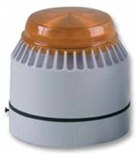 Eaton Flashni Horn/blinklys - 12 V - Hørbar, Visuelt - Rav, Hvid