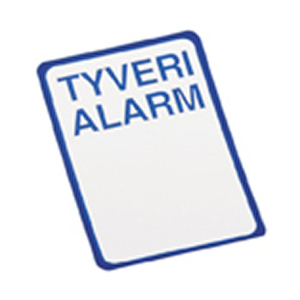 AP 999  Blå Alarmskilte