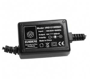 Elmdene Vision Vekselstrømsadapter til Adgangskontrolsystem - 120 V AC, 230 V AC Input Voltage - 12 V DC Output Voltage - 1 A Output Current