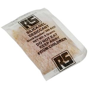 Silica gel moisture bags 5g
