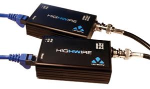 VHW-HW coax til LAN konverter