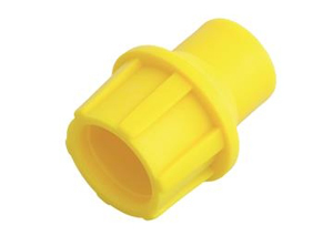 CaP/Y Pushon Plastic Yellow