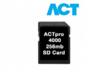 MEMORY CARD FOR ACTPRO 4000