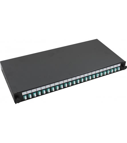 LC S/M 4way Loaded Patch Panel