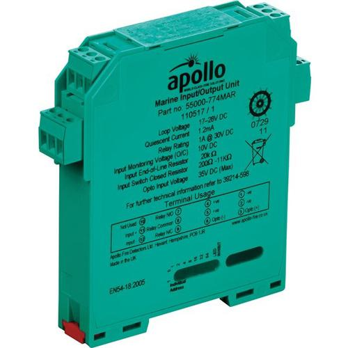 Marine DIN-Rail I/O Unit