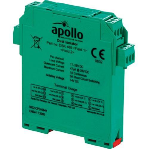 55000-802 DIN-RAIL DUAL ISO