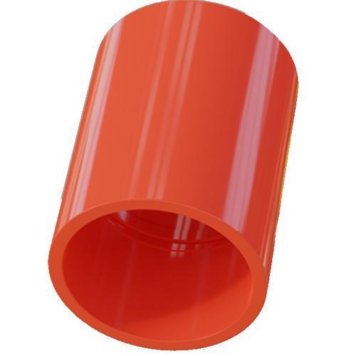 Bisson Coupler - Red - 25 mm Ø x 41 mm - Acrylonitrilbutadienstyren (ABS)