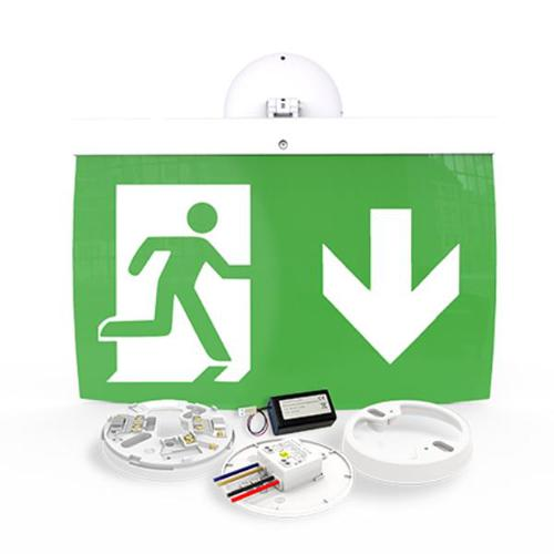 40m Exit Sign Kit, DOWN arrow