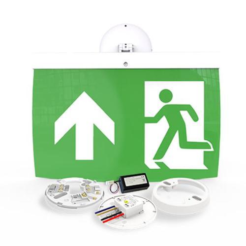 40m Exit Sign Kit, UP arrow