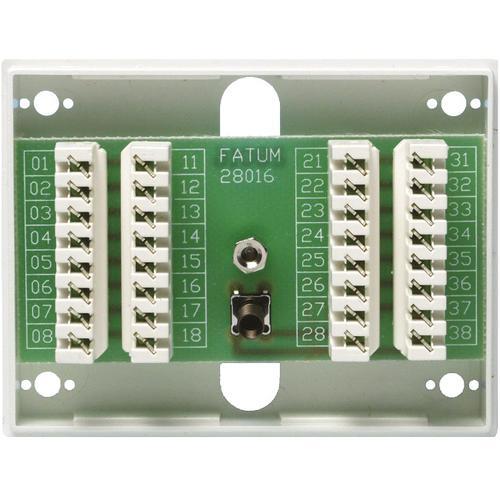 Connection box 16 -> 16 poles