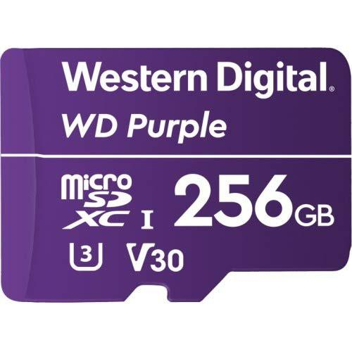 WDD256G1P0A 256GB MicSD Purple
