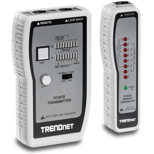 TRENDnet TC-NT2 kabel Analyzer - Optil 0,30 km Lenght Measurement